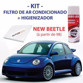 Kit New Beetle Filtro De Ar Condicionado +spray Higienizador