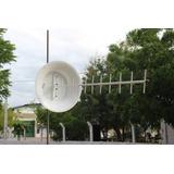 Kit Antena Para Celular Rural 900mhz 24dbi (com Bacia) .
