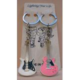 Chaveiros Divertidos Guitarra Musical Musica Instrumento Pa