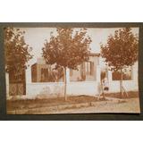 Fotografia Antigua Casa De La Ciudad De Pergamino 1918