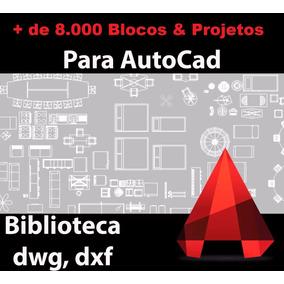 + 8.000 Blocos Autocad - 195.000 Projetos De Engenharia