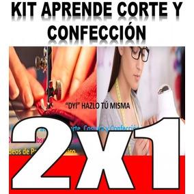 Curso Corte Costura Confección 61 Libros Patrones Y Video 1