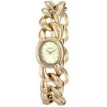 Relógio Feminino Fossil Es3460 Dourado 22mm Novo Original