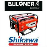 Grupo Electrogeno Shikawa G2800 6,5hp Generador Burzaco
