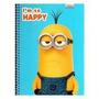Caderno Meu Malvado Favorito 16 Materia 320 Folhas