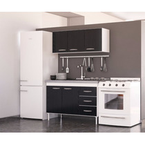 Combo Cocina Bajo Mesada+ Alacena 1.20 Mts. Dl 612-622
