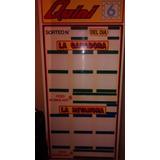 Para Agencia De Lotería: Juego De Carteles De Quini 6