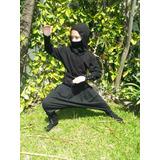 Traje/disfraz De Ninja Para Niños