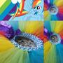 Tutu Rainbowdash Divino!!! Ideal Disfraz Cumpleaños. Ultimos