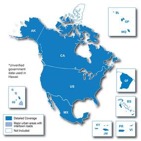 Mapa City Navigator 2018 Estados Unidos Mapsource P Gps Nuvi
