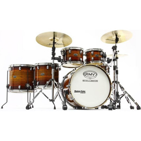 Bateria Rmv Concept Exclusive Maple Custom Natural Burst 22¨