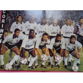 Corinthians - 1991 Poster Autografado.otimo Estado -relíquia
