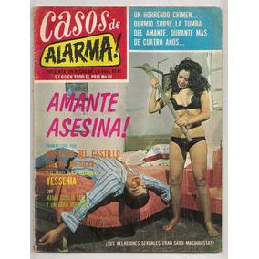 Revista Casos De Alarma # 150 Vedettes Actrices México 1974