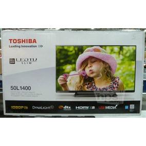 Tv Led Toshiba 50 Pulgadas Hdmi Slim Nuevo, Pantalla Rota