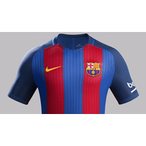 Nuevo Jersey Barcelona 2017 Playera Rayas Nike Envio Gratis
