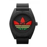 Reloj adidas Unisex Negro Rasta Santiago - Original