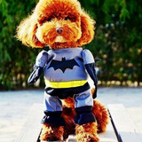 Roupa Fantasia Cachorro Gato Batman Tamanho P P