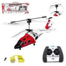 Helicóptero Grande Rc Controle Remoto Brinquedo Modelos