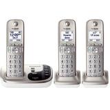 Kit De 3 Telefonos Inalambricos Panasonic Tgd223 Con Dect 6
