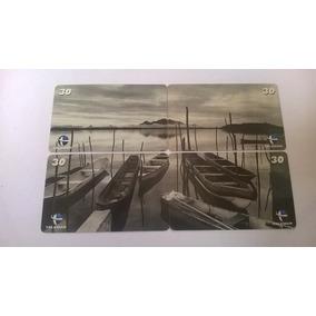 Serie Pesca Artesanal - Es Cartoes Usados Em Bom Estado