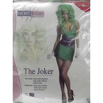 Dr.veneno Disfraz The Joker Talla Medium Marca Secret Wishes