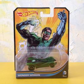 Hot Wheels Dc Lanterna Verde Com O Titulo De Wonder Woman