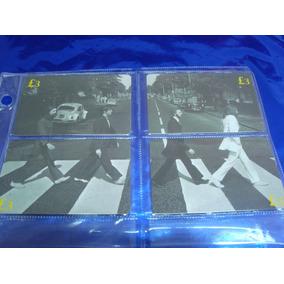 Inglaterra Et Telecard Beatles Serie Painel Completa