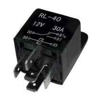 Relay Relevador Alarma Xenon Actuadores Auto 5 Pines 40amp