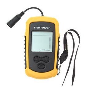 Sonar Portátil P/ Pesca Fish Finder Com Sonda Ultra-sônica