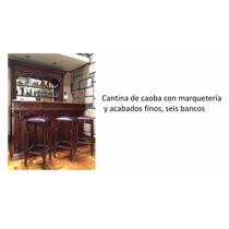 Cantina De Madera (6 Bancos)