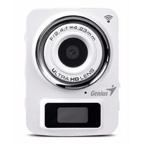 Camara Genius Fhd300 Go Life Sumergible Full Hd 1080 Wi-fi