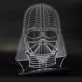 Star Wars 3d Abajur Luminaria Led - O Despertar Da Força