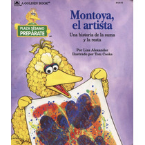 Plaza Sesamo, Libro Infantil Ilustrado. Montoya El Artista