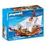 Playmobil 5618 Barco Pirata Serpiente Roja , Nuevo En Caja