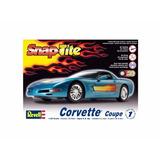 Miniatura Chevrolet Corvette Coupe Kit P/ Montar 1:25 Revell