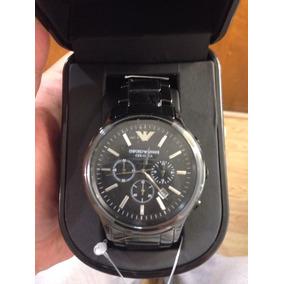 Reloj Emporio Armani De Cerámica Negro Ar1474