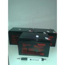 Kit 3 Bateria 12v 12ah Bike Elétrica 6-dzm-10 6-dzm-12