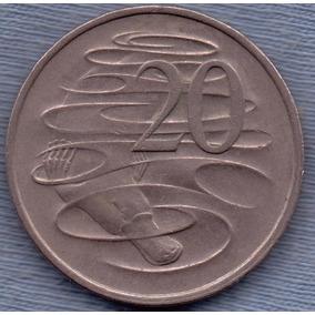 Australia 20 Cents 1979 * Ornitorrinco * Enorme
