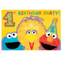 Sesame Street 1 ª Fiesta De Cumpleaños - 20 Count