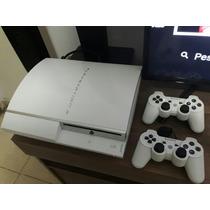Playstation 3 Fat Branco Único Mercadolivre Raro Ed Limitada