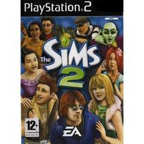Jogo Ps2 - The Sims 2 - Frete Grátis