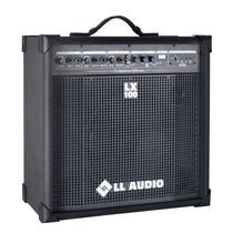 Caixa Amplificada Multiuso Ll Lx100 Usb E Fm - 25 Watts