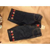 Calça Jeans Gymboree 6-12 Meses C/ Frete Gratis
