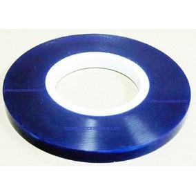 Cinta Azul Para Sellar Cartuchos De Tinta, Rollo 100 Metros