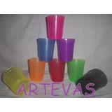 Vaso Plastico Flexible De 300 Cc Color X 1 Unidad