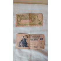 Billetes Antiguos De 1 Peso Moneda Nacional De 1948