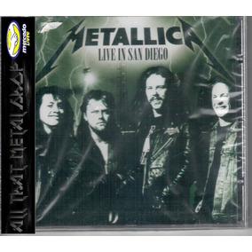 Metallica - Live In San Diego - Cd Lacrado Original