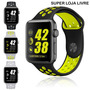 Pulseiras Silicone Nike Iwatch Apple - 38mm Ou 42mm