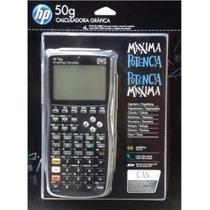 Calculadora Gráfica Hp 50g Com Capa Protetora ** Original **
