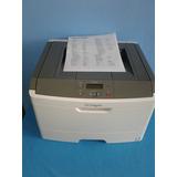 Impresora Lexmark E360dn, Excelente Con Cable Y Toner